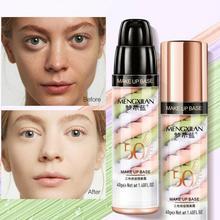 Invisible Pore Makeup Primer Liquid Moisturizing Cream Brighten Base Fine Oil-control Lines Primer F