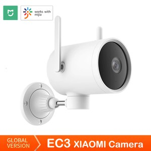 Global version Xiaomi EC3 Outdoor Camera Smart AI night vision Security home IP camera 1080P CCTV Wi-Fi Hotspot Router Rotatable