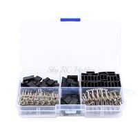 Комплект обжимных контактов, 30 комплектов, сервопривод, штекер, гнездо, совместим с детали Hitec Spectrum RC