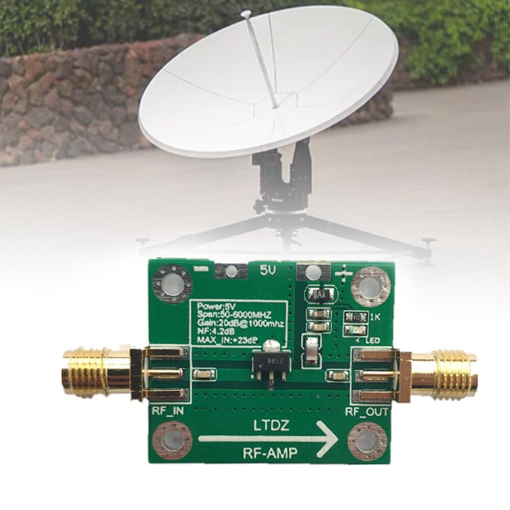 Amplificador DE 30-4000MHz RF placa amplificadora de potencia RF HF alta frecuencia...