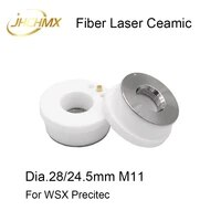 jhchmx 5pcs laser ceramic nozzles holder dia 28mm m11 for precitec ktb2 con p0571 1051 00001 wsx hsg fiber laser cutting head