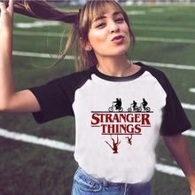 Funny T Shirt Women Stranger Things Female Tshirt Friend Don't Lie Letter Print T-shirt Summer O-neck harajuku Tops ropa mujer