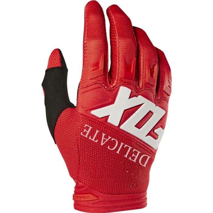 Dirtpaw carrera de 360/180 delicada Fox guante MTB bici Off-road Motocross motocicleta guantes rojo