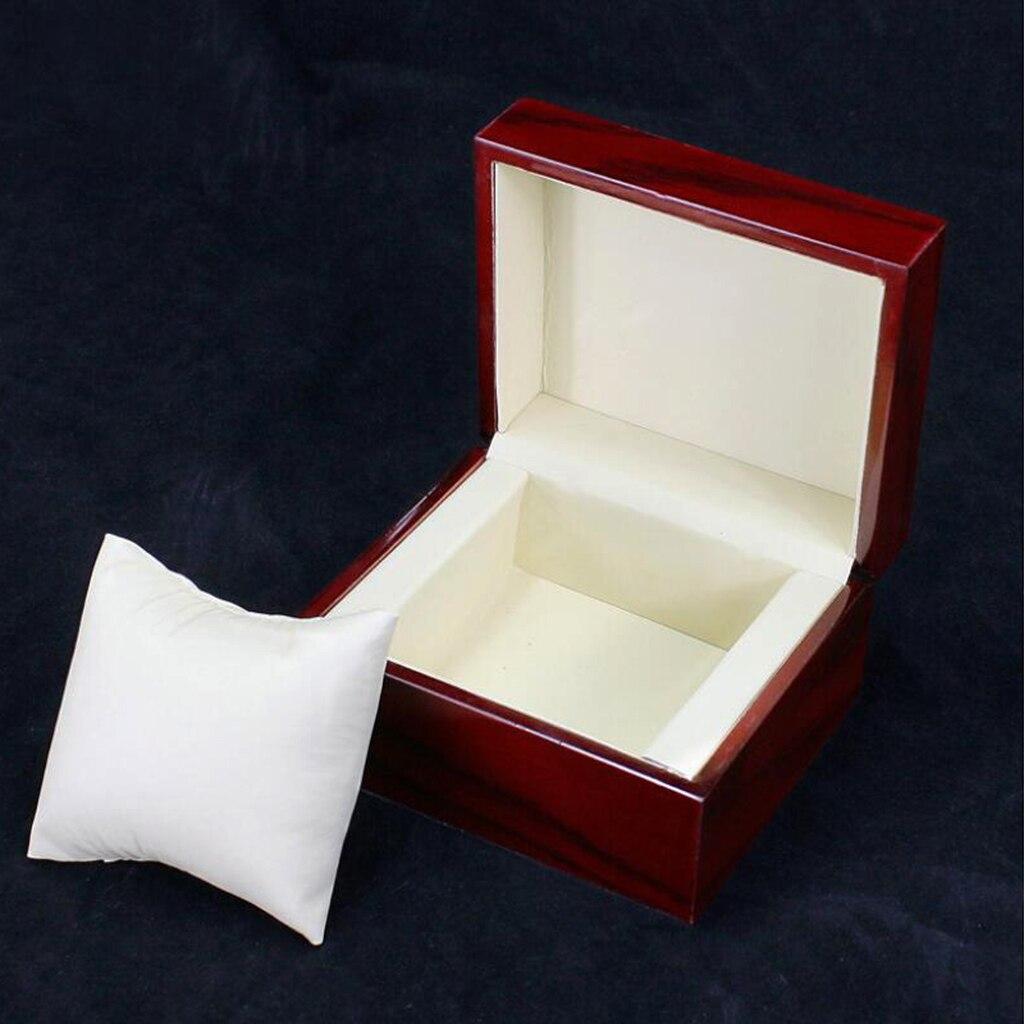10pcs Unique Wood Watch Winder Case for Wrist Watch Organizer enlarge