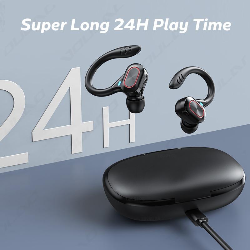 TWS Wireless 5.0 Headphones Sports Waterproof Earbuds Touch Control LED Display Music Bluetooth-Compatible Earphones Headsets enlarge
