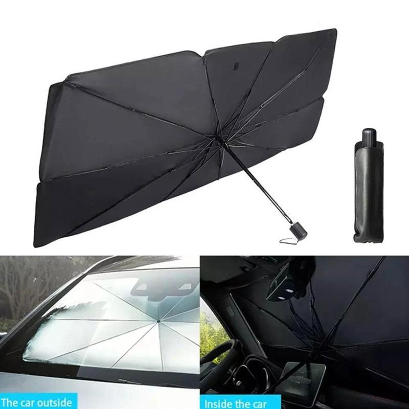 2 размера S L Автомобильный солнцезащитный Зонт ветровое стекло Солнцезащитный козырек автомобильный умный изолированный чехол уличный вод...