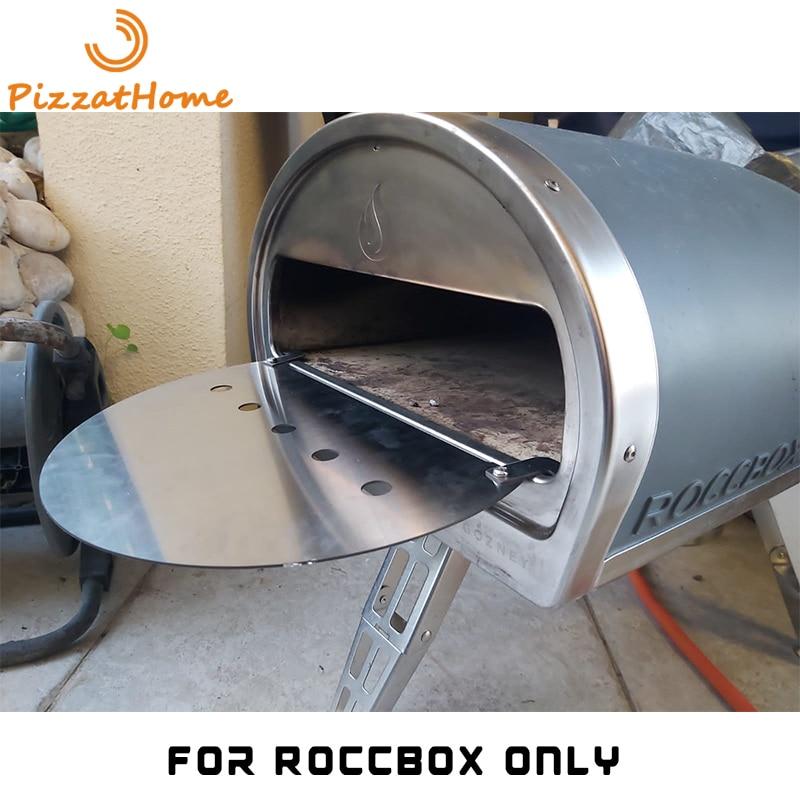 Zuczathome-حامل فرن بيتزا Roccbox ، مصنوع حسب الطلب ، لوحة إطار ، لوح سميك من الفولاذ المقاوم للصدأ 304 ، لوحة ملحقات فرن البيتزا