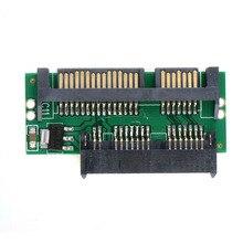 Pro 1.8 Micro MSATA SSD إلى 7 + 15 2.5 بوصة محول SATA ورق مقوى محول