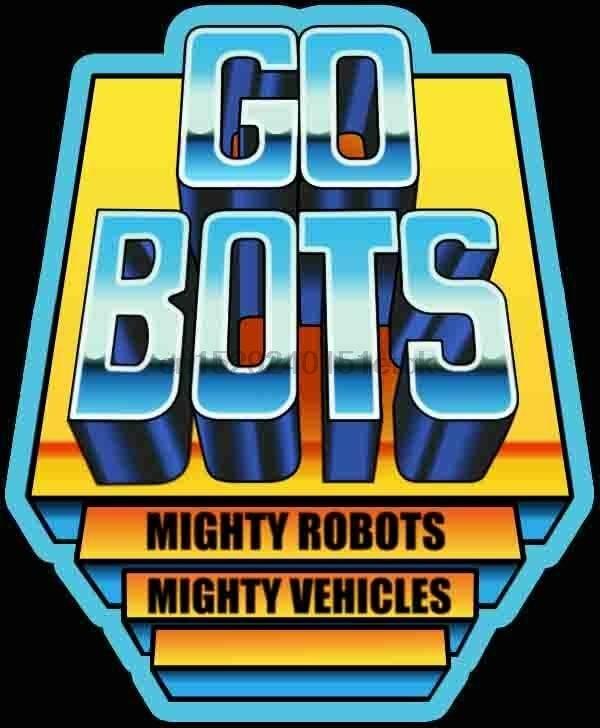 Camiseta personalizada con Logo de GoBots clásico de 80 dibujos animados en cualquier tamaño y cualquier Color