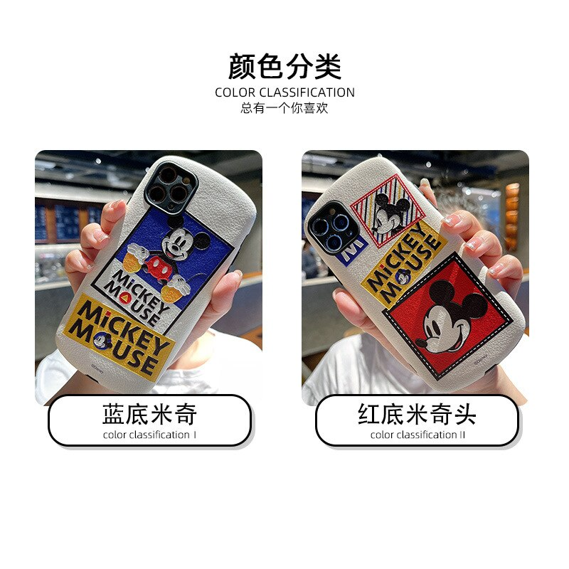 Disney original mobile phone cover for iphone xr case Mickey Minnie couple mobile phone sets  - buy with discount