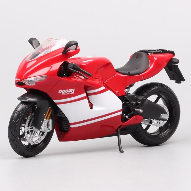 112 Automaxx Desmosedici RR moto 2009 racr moto GP mini moto rcycle modelo réplica a escala Diecasts y vehículos de juguete miniatura hobby