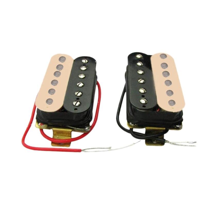 50mm + 52mm Humbucker Pickup guitarra eléctrica pastillas conjunto para Fender Stratocaster...