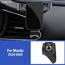 Car Mobile Phone Holder For Mazda CX30 CX 30 2020 Special Air Vent GPS Mounts Stand Gravity Navigation Bracket Car Accessories