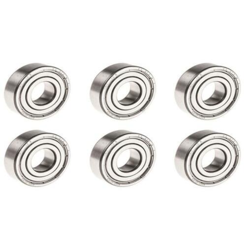 HG 1/10 RC Metal 5x10x4mm rodamiento de bolas Pickup, coche de carreras, modelo DIY, piezas TH04914-SMT2