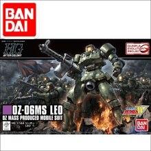 Original japonais Gundam modèle HG 1/144 GUNDAM OZ-06MS LEO Mobile costume enfants jouets