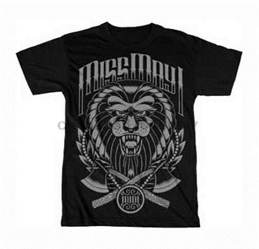 Miss May I Tiger camiseta S M L Xl 2Xl nueva camiseta oficial