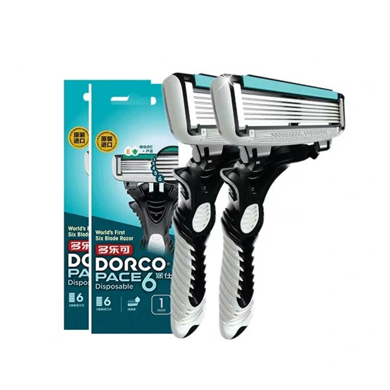 lumene for men voima energizing shave gel Safety Shaving Razor Blade For Men 6 Layers Stainless Steel Shave Razors Men Manual Shaving Trimmer Straight Hair Removal