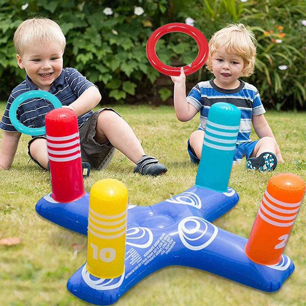 Летние игрушки, водные детские надувные плавающие кольца-обручи, игра, плавательные бассейны, игрушки для детей, водные виды спорта