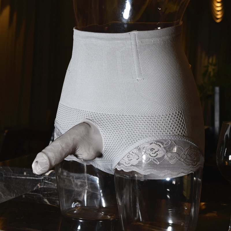 Hombres Gay Sissy Body Shaper Butt Lifter pantis de cintura riñonera lifting corsé bragas adelgazamiento Control pantalones encaje Briefs ropa interior erótica