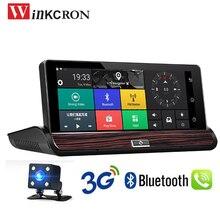 7 بوصة 3G Andriod 5.0 لتحديد المواقع والملاحة جهاز تسجيل فيديو رقمي للسيارات كاميرا بلوتوث DVR داش كامير فيديو مسجل واي فاي DVR FHD 1080P DDR كاميرا الرؤية الخلفية