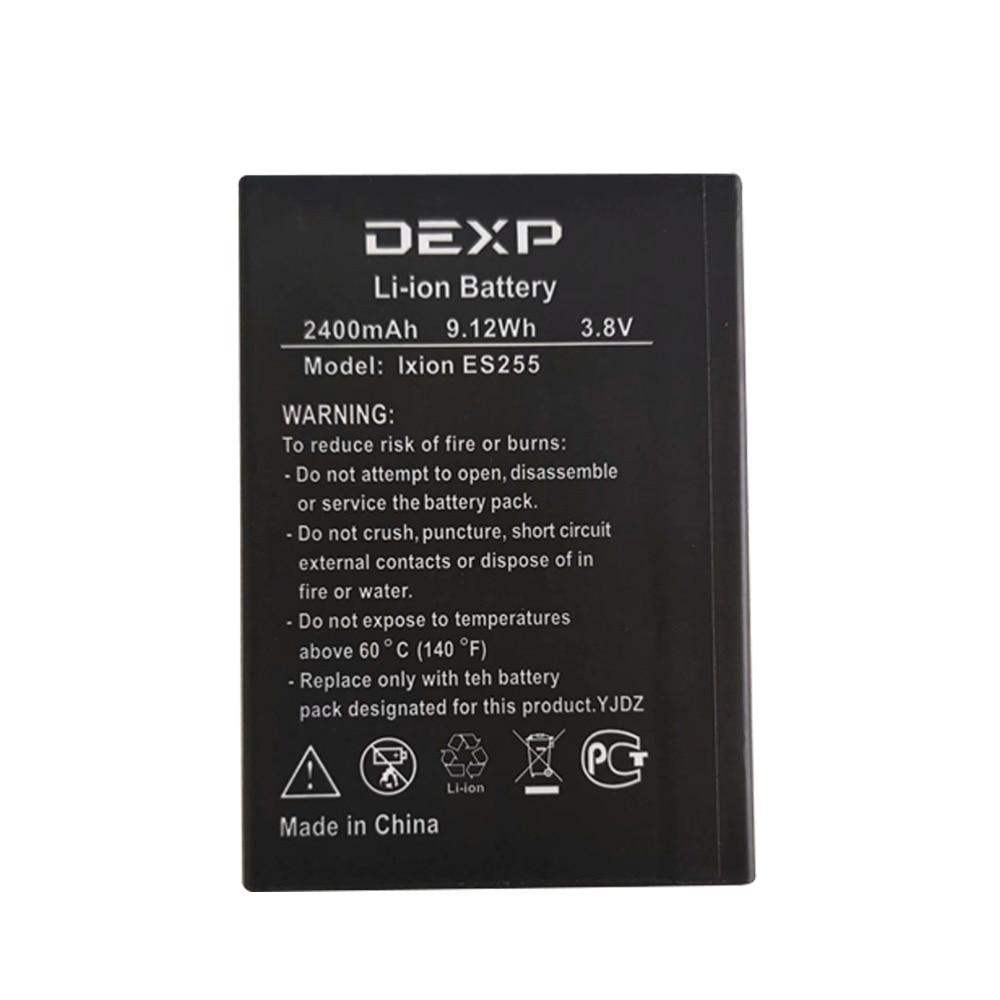 2400mAh batería de reemplazo para DEXP Ixion ES255 fuego teléfono