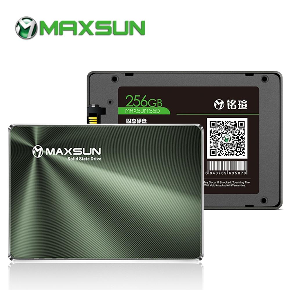 MAXSUN Full New SSD 240GB 480GB Laptop Internal Solid State Drives Desktop 120GB 128GB 256GB 520MB/s 1TB Hard Drive Disk SATA enlarge