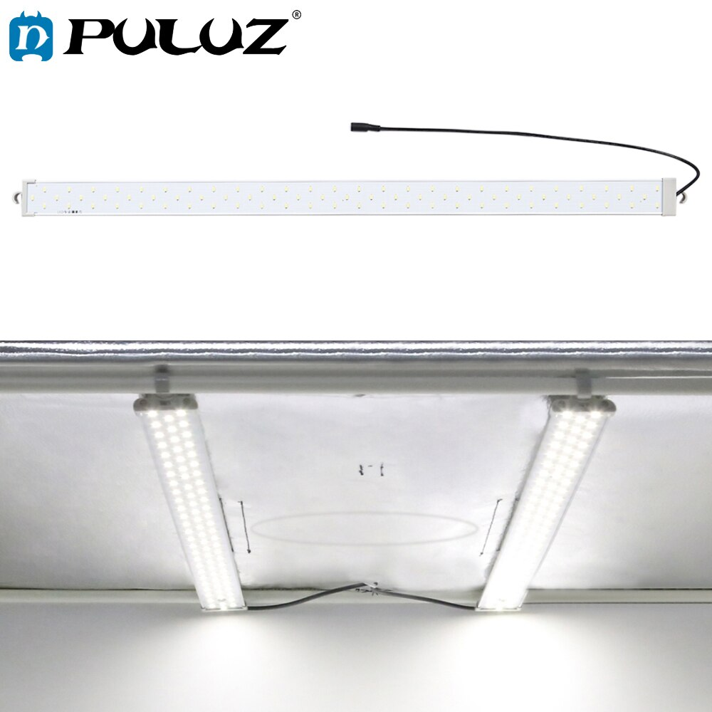 PULUZ 1 قطعة 40W 4250LM 78 المصابيح SMD 5730 5500K شرائط مصباح ل 80 سنتيمتر علبة الصور الخام من مصباح ليد للتصوير صندوق إضاءة