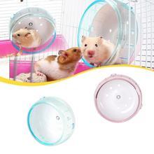 1 Pcs Willekeurige Kleur 12 Cm Hamster Muis Rat Oefening Plastic Silent Running Spinner Wiel Huisdier Speelgoed Kleine Pet Training speelgoed Benodigdheden