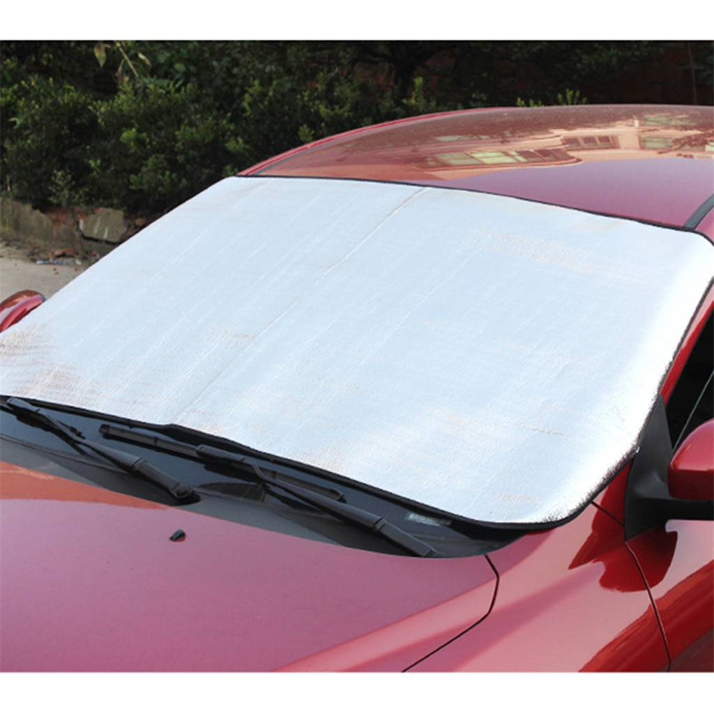 CARPRIE Auto Windshield Protector Snow Cover All Weather Visor Durable 215x125cm Shields For Dust Dirt Scratches Sunshade Visor