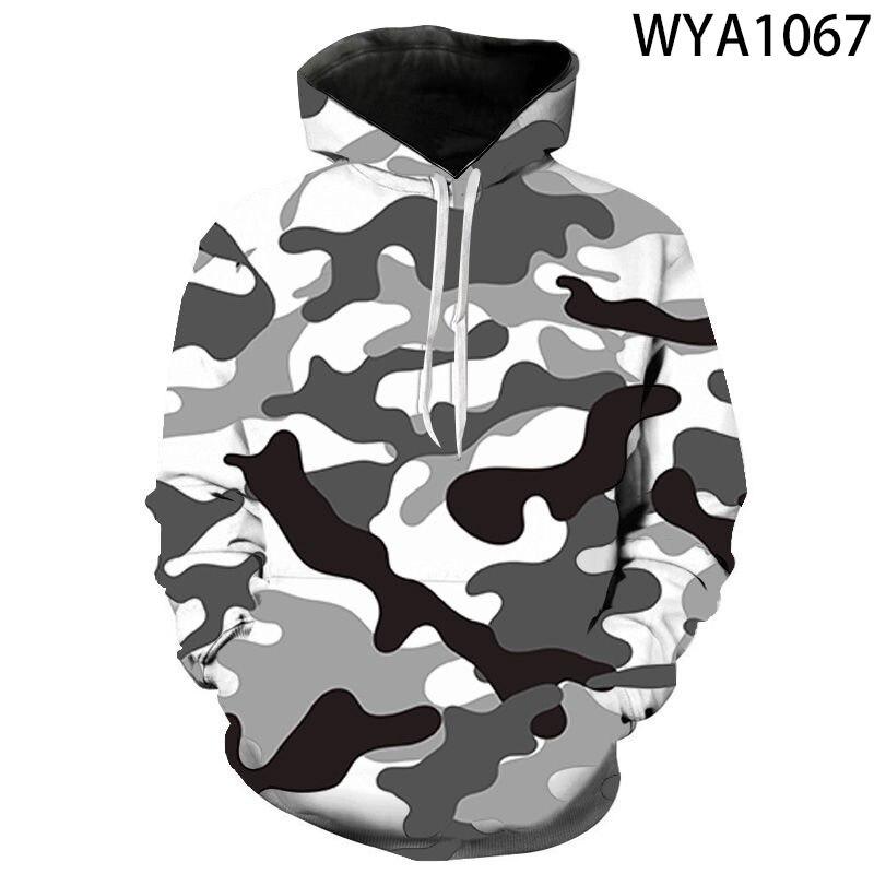 Sudadera con capucha de camuflaje para hombres y mujeres 2020, sudadera nueva de camuflaje para hombres, sudadera a la cadera para otoño e invierno, sudadera militar, ropa para hombres