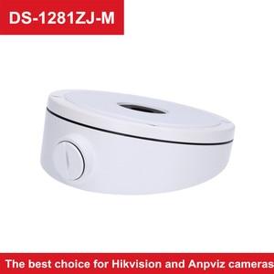 Hikvision CCTV Bracket DS-1281ZJ-M Aluminum Alloy Junction Box Suit For Camera DS-2CD2385FWD-I Anpviz POE IP Camera IPC-D350W-S