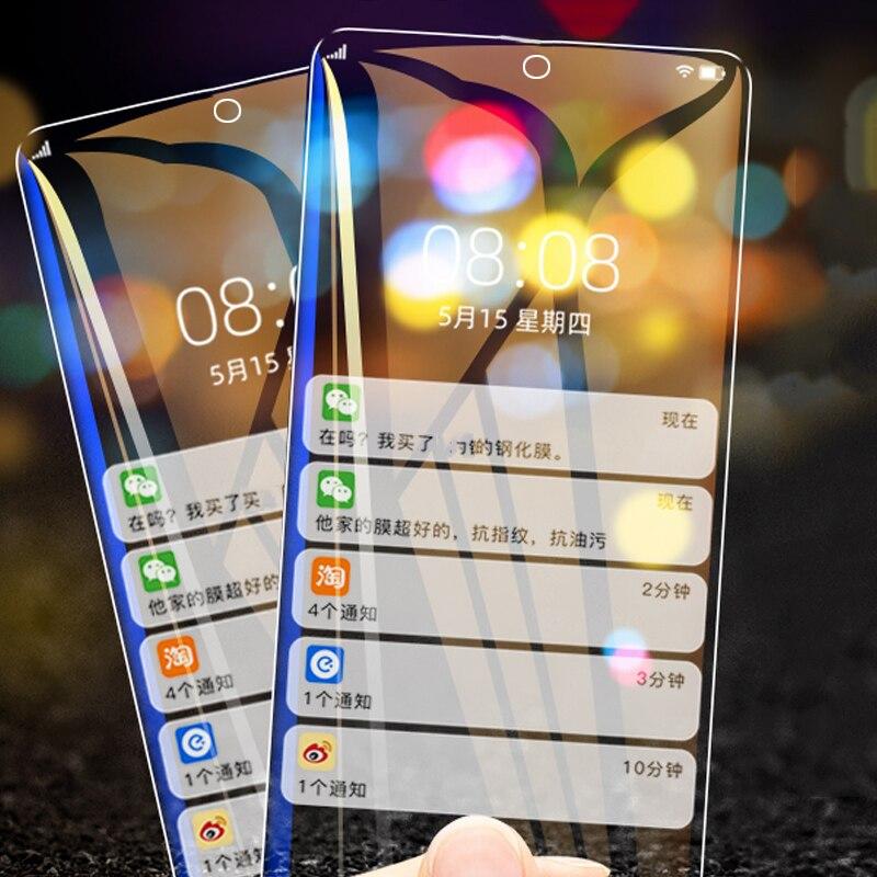 2 protectores de pantalla Note10 Lite de cristal templado para Samsung Note 10 Lite para Samsung Galaxy Note 10lite Note10lite N770F film