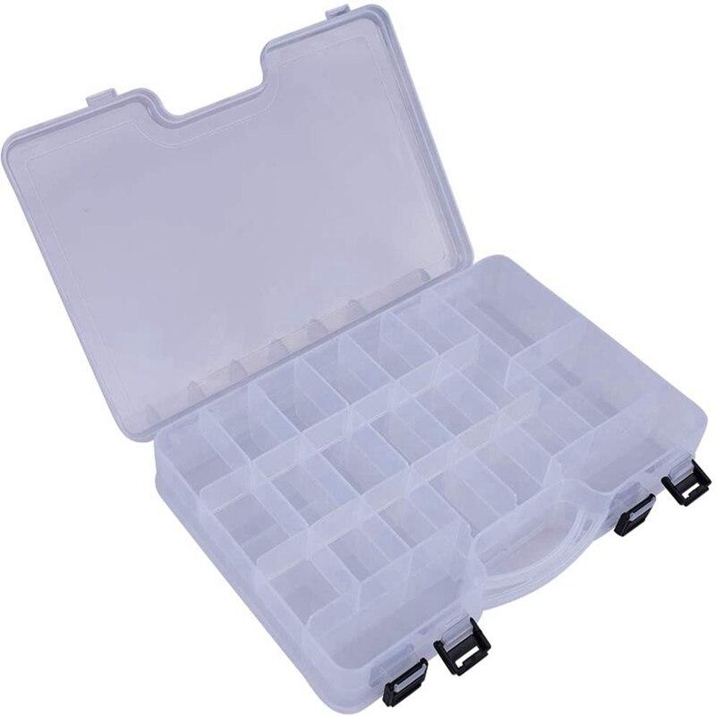 Große-kapazität Tragbare Griff Angeln Tackle Box Multifunktions Große Doppel Seite Kunststoff Karpfen Angeln Köder Köder Lagerung Veranstalter