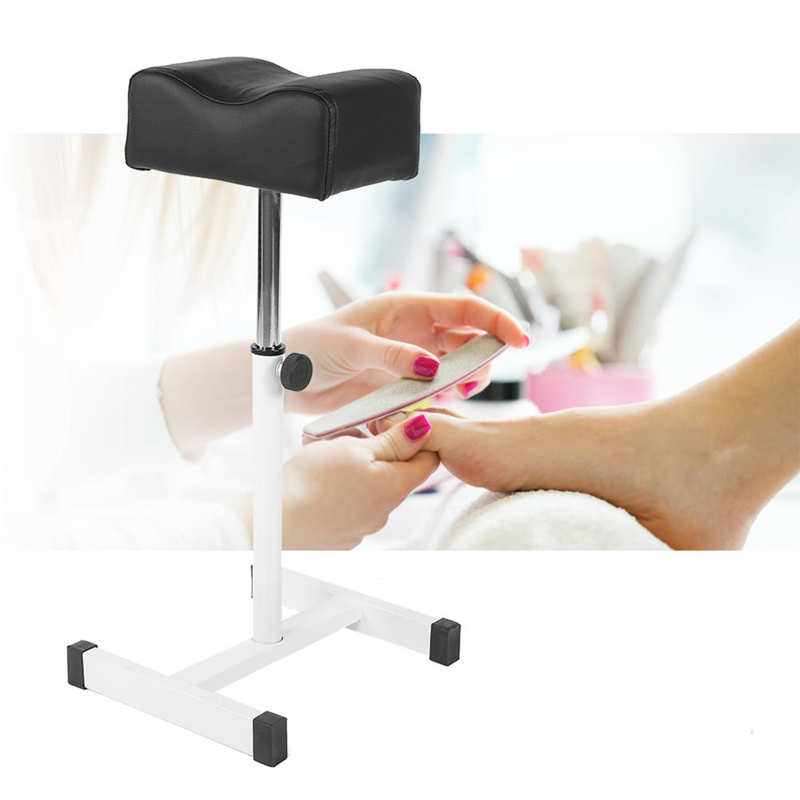 New Adjustable Pedicure Nail Footrest Manicure Foot Rest Desk Salon Spa Equipment Foot Desk Nail Art