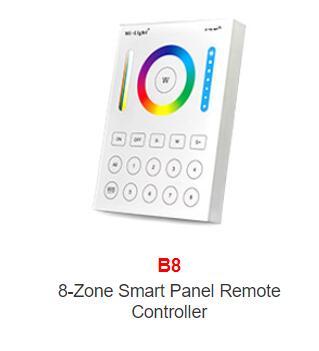 Miboxer Mi light B0/B1/B2/B3/B4/B8/T1/T2/T3/T4 brightness/CT/RGB/RGBW/RGB+CCT Smart Panel Remote strip LED RGB controller Dimmer