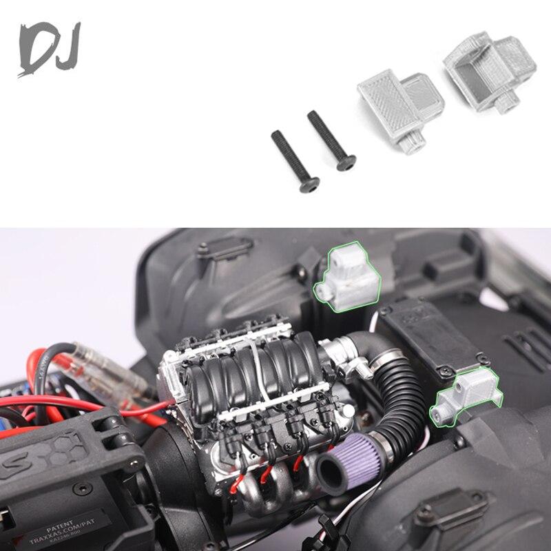 metal front DJ TRAXXAS TRX4 Metal front front shell pillar, inner heightened shell pillar 3D printing DJ-0713 RC Car Accessories