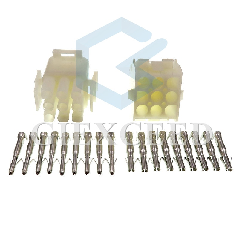 9 Pin 1-480707-0 794538-1/350782-1 1-480706-0 794537-1/350720-1 Female Male Plug Wiring Harness Cable Sockets