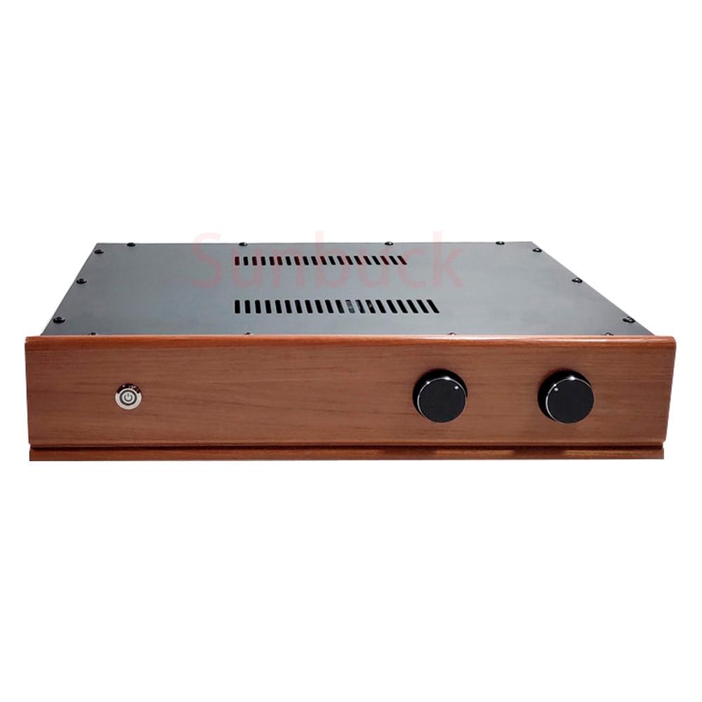 Sunbuck قبل preamp 12AX7 GE6X4 فراغ المعدل أنبوب مرجع marantz 7 أنبوب مكبر للصوت HIFI مكبر كهربائي الصوت