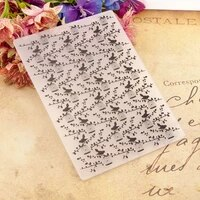 birdie and birdcage embossing folders plastic background template for diy scrapbooking crafts photo album card holiday decor