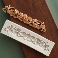 1pc flower vine lace silicone cake molds fondant mold cake decorating tools pastry kitchen baking accessories ftm196