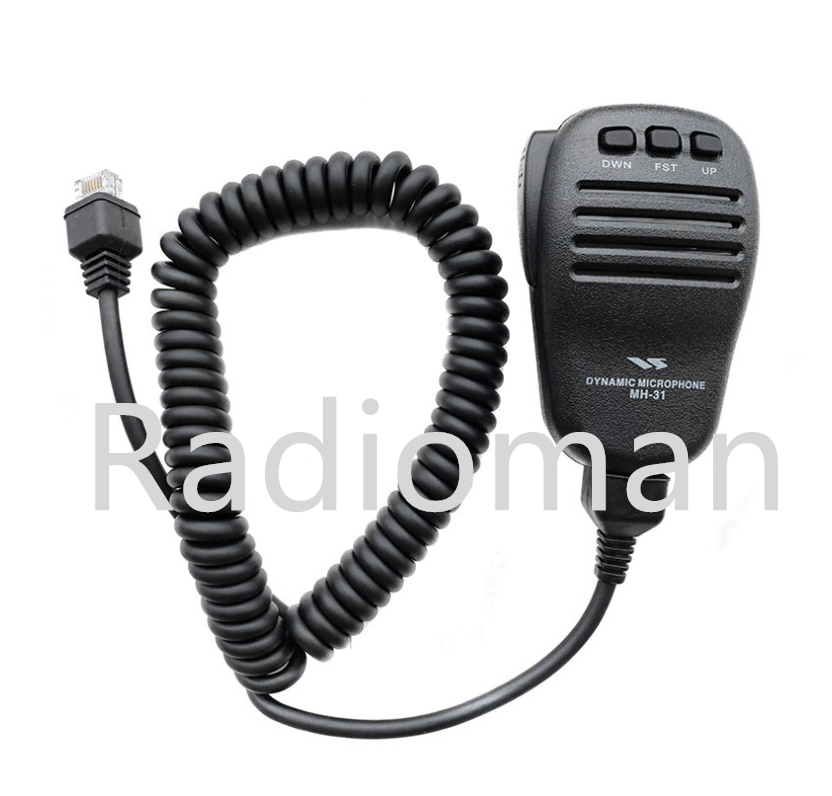 Микрофон MH-31 для YAESU FT-817ND FT-857D FT-897D FT-450D FT-900/AT FT-818 FT-891 HAM Радио MH-31A8J