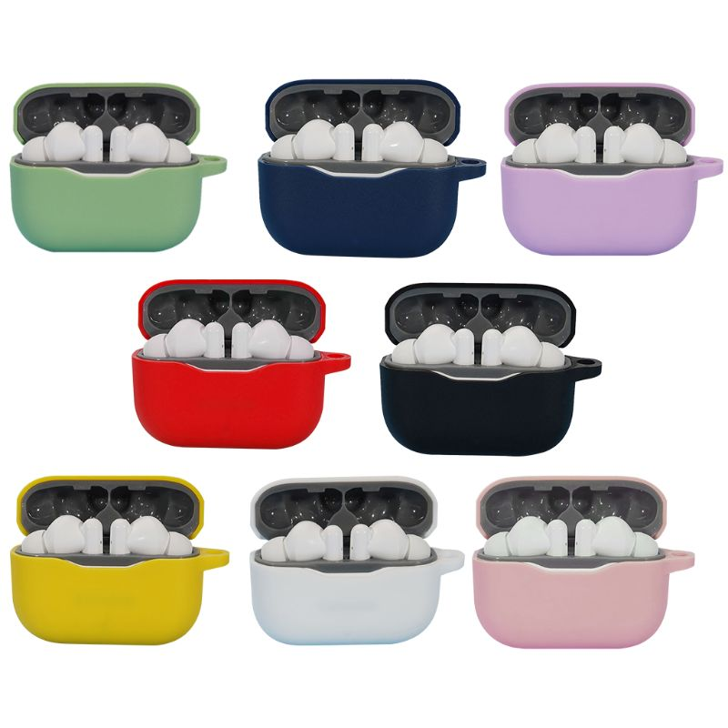 Funda protectora de silicona lavable a prueba de polvo para auriculares LivePods de Lenovo 35EA