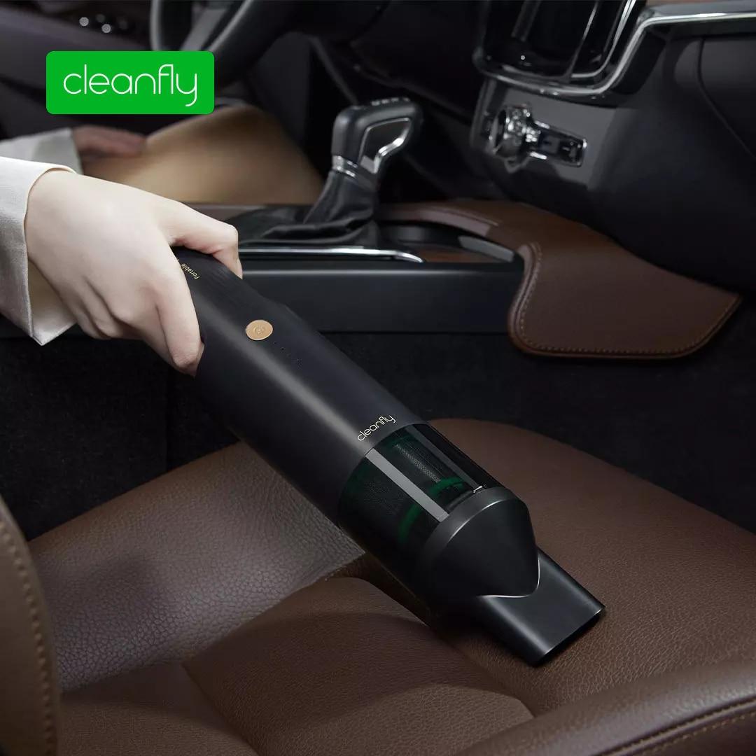 مكنسة كهربائية ذكية من شاومي كوكلين كلينفلاي للسيارة ، مكنسة كهربائية محمولة باليد ، مكنسة كهربائية منزلية بدون سلك ، تنظيف قوي