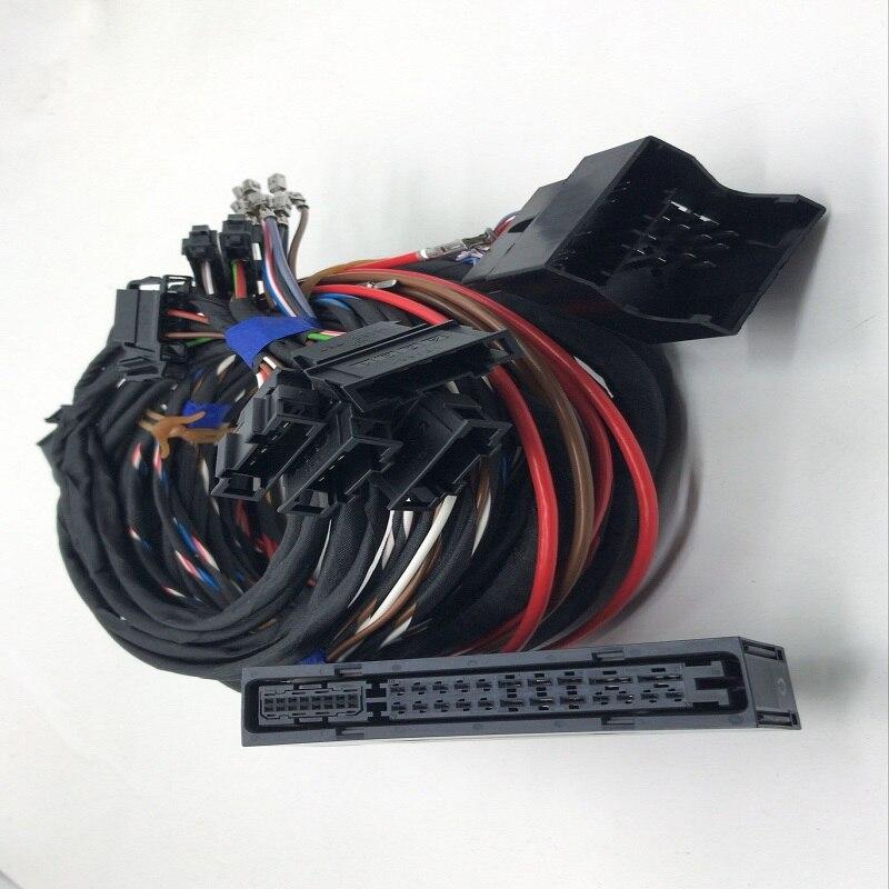 Para PQ35 Golf 6 Scirocco Tiguan Plug & play RNS510 Dynaudio sistema acústica arnés de Cable