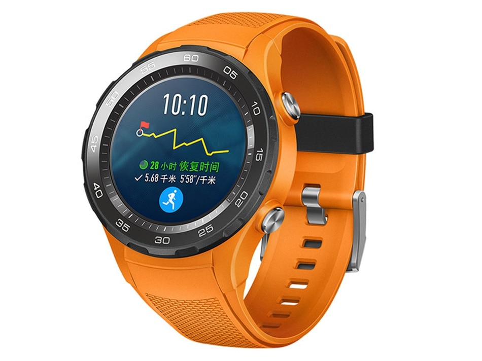 hot sell Huawei Watch 2 Smart Watch Support LTE 4G version Phone Call Heart Rate Tracker For Android iOS IP68 waterproof NFC GPS