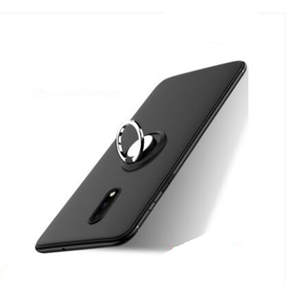 For UMI Super Silicone Case Luxury Magnetic Ring Holder Bracket Phone Cases For UMI Max Case Capa