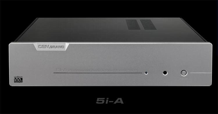 CEN راند 5i-a + IFI 6-قناة الرقمية الدوار 3D HD القرص الصلب الموسيقى لاعب 4K رفع المستوى