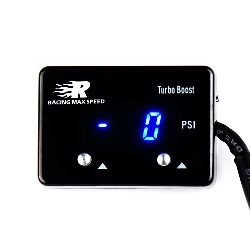 wholesales 12v car Universal PSI turbo boost vacuum digital meter auto vacuum gauge meter Skyline WRX Evo MPS GTR STI XR6