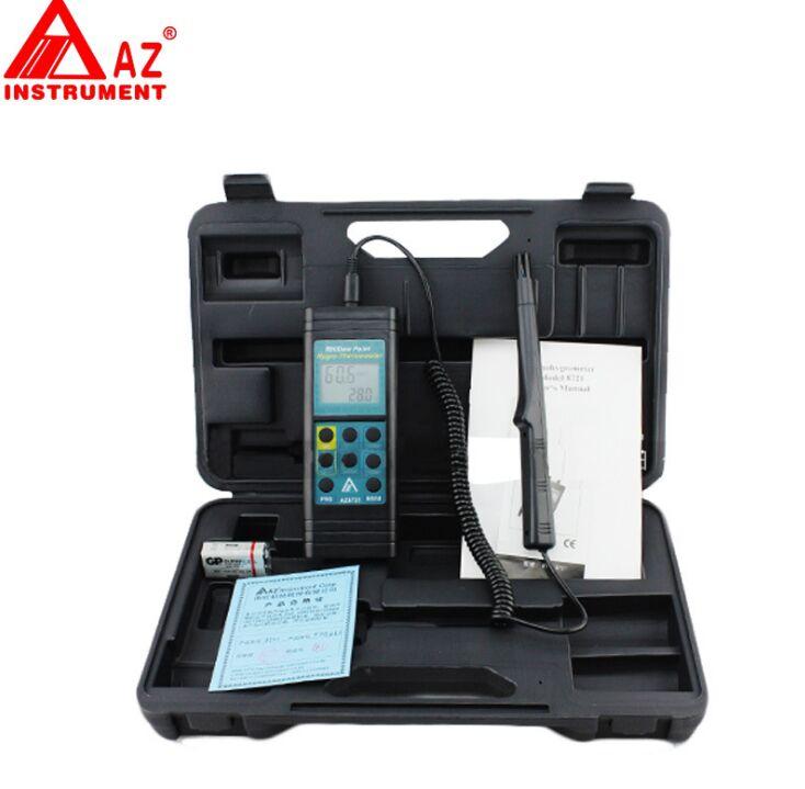 AZ8721 ручной интерфейс Температура Влажность гигро-Термометр Тестер гигрометр