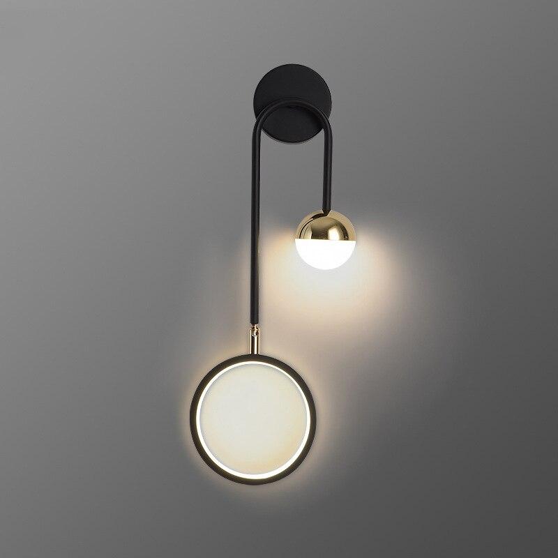 الحد الأدنى الحديثة أضواء الجدار لغرفة المعيشة السرير التلفزيون خلفية درج المطبخ الإضاءة 13 واط LED مصباح الجدار داخلي